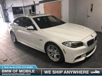 We are excited to offer this 2015 BMW 5 Series. Only