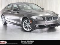 This Certified Pre-Owned 2015 BMW 535i is a One Owner
