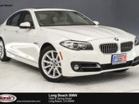This 2015 BMW 535i is a One Owner vehicle with a Clean