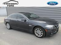 AWD, Black Leather. New Price! 535i xDrive Odometer is