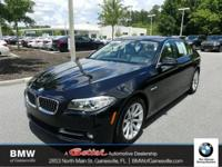 This 2015 BMW 5 Series 535i in Jet Black features: