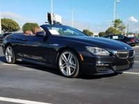 CARFAX One-Owner. Clean CARFAX. Black 2015 BMW 6 Series