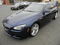 THIS IMMACULATE 2015 BMW 640I GRAN COUPE M SPORT ONE