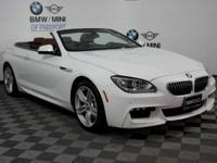 BMW Certified, CARFAX 1-Owner, GREAT MILES 23,703! 640i