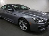 New Price! 2015 BMW 6 Series Space Gray Metallic AWD