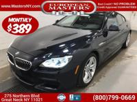 This Gorgeous Black 2015 BMW 640XI Gran Coupe Comes