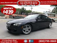This Wonderful Carbon Black Metallic 2015 BMW 650XI