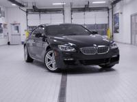 2015 BMW 6 Series 650i xDrive Gran Coupe Black Sapphire