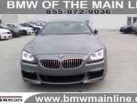 BMW Certified, CARFAX 1-Owner. Moonroof, Heated Leather