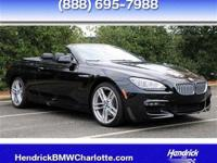 ======: 650i with Black Sapphire Metallic outside and