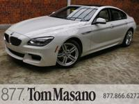 OVERVIEW This 2015 BMW 6 Series 4dr 640i xDrive Gran