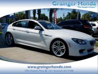 LOW MILES - 36,430! 640i trim. PRICE DROP FROM $45,991,