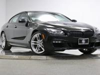 *2015 BMW 650i X Drive Gran Coupe In Black Sapphire