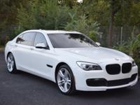 FULLY LOADED 2015 BMW 740LI M PACKAGE. This powerful &