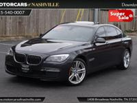 This 2015 BMW 7 Series 4dr 740Ld xDrive features a 3.0L