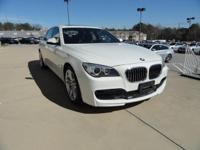 We are excited to offer this 2015 BMW 7 Series. This