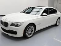 2015 BMW 7-Series with M Sport Package,Cold Weather