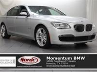 This 2015 750i has M Sport Edition, Executive Package,