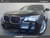 BMW Certified, CARFAX 1-Owner, ONLY 32,210 Miles! Black