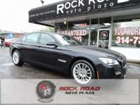 Carbon Black Metallic 2015 BMW 7 Series 750Li xDrive