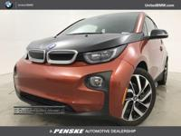 WAS $54,595. CARFAX 1-Owner, GREAT MILES 15,384! i3