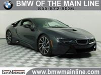CARFAX 1-Owner, BMW Certified, LOW MILES - 15,663! i8