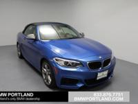 BMW Certified, Excellent Condition, CARFAX 1-Owner,
