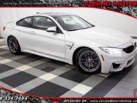 2015 BMW M4 ONE FLORIDA OWNER!! 6-SPEED MANUAL!! ONLY