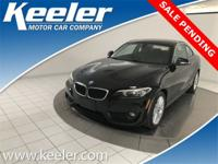 New Price! Certified. CARFAX One-Owner. 2015 BMW 2