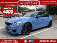 This Lovely Blue (Yas Marina Blue Metallic) 2015 BMW M3