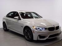 Recent Arrival! 2015 BMW M3 CARFAX One-Owner. Clean