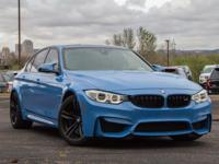 M3 Sedan trim. Nav System, Heated Leather Seats, Rear