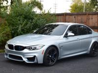 2015 BMW M3 SPORT. This powerful & luxurious Sports