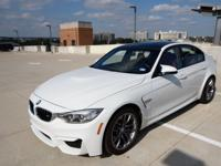 I'm selling my beautiful alpine white m3. Showroom new