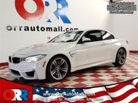 Recent Arrival!   White 2015 BMW M4 RWD 3.0L I6