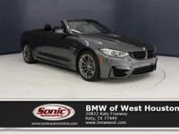 This 2015 BMW M4 Convertible is a One Owner vehicle