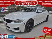 This Gorgeous White 2015 BMW M4 Comes Equipped With An