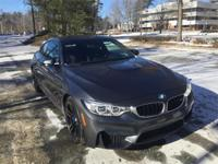 Low mileage and priced to sell quick: 2015 BMW M4 Coupe