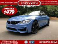 This Lovely Blue (Yas Marina Blue) 2015 BMW M4 Coupe