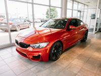 Certified. Sakhir Orange Metallic 2015 BMW M4 Base RWD