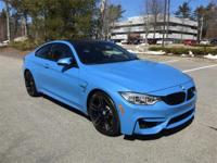 Rare 2015 BMW M4 Coupe in Yas Marina Blue Metallic and
