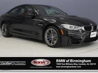 This 2015 BMW M4 Coupe comes complete with features