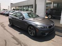 Recent Arrival! 2015 Mineral Gray Metallic BMW M4 ONE