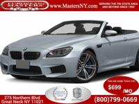 This Incredible Silverstone 2015 BMW M6 Convertible