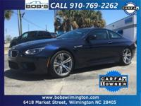 This one of a kind 2015 BMW M6 Coupe is offered to you