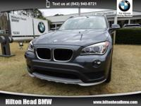 We are excited to offer this 2015 BMW X1 sDrive28i *
