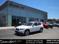 Take command of the road in the 2015 BMW X1! A great