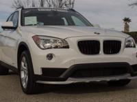EPA 34 MPG Hwy/23 MPG City! BMW Certified, Clean.