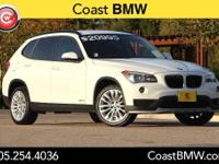Options:  2015 Bmw X1 Sdrive28i|White|Low Miles