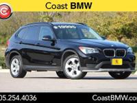 Options:  2015 Bmw X1 Sdrive28i|Black|Bluetooth. Only